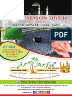 Arfa Hyderabad Umrah Brochure 2015