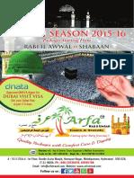 Arfa Hyderabad Umrah Brochure 2015