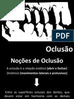 OCLUSÃO 2017.1.