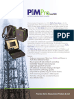 PIMPro Tower Brochure