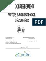 SCHOOLREGLEMENT Vrije Basisschool Jezus-Eik 2017-2018