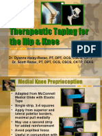 6 Hip and Knee Therapeutic Taping 101