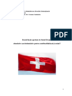 proiect decizii fiscale
