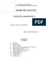 Violenta Domestica Licenta