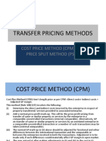 Transfer Pricing Methods - Ppt