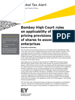 2014G_CM4792_TP_Bombay HC Rules on Applicability of TP Provisions to Issue of Shares to Associated Enterprises