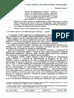 Contribuições Para Uma to Brasileira_Serva_1990