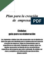 Anexo 15 Guias Para La Elaboracion de Plan de Creacion