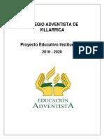 Proyectoeducativo6122 Colegio Adventista Muy Bueno