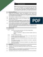 CF Constitution 2010
