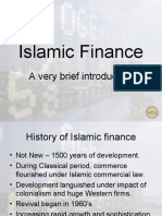 Islamic Finance Ppt by VCU