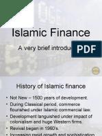 Islamic Finance Ppt by VCU