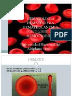 Laboratorio de Hematologia 1