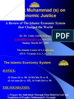 Prophet Muhammed on Economic Justice Ppt