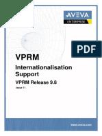 AVEVA VPRM Internationalisation Support