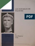 Les Notable de Palmyre