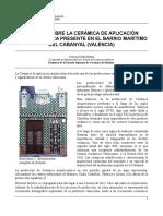 Aplicacion ceramica - ARQUITECTURA