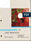 Marco Cast Brackets Catalog 4-85