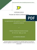 Arostegui Julio - La Especificacion de Lo Generico en La Violencia Politica en La Perspectiva Historica