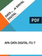 Data Dan Sinyal Digital