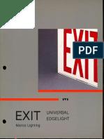 Marco Exit Series Catalog 4-85