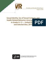 Cdc Sex Study