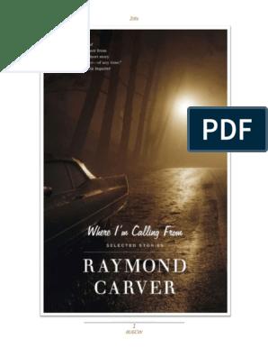 Carver, Raymond - Odakle Zovem