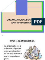 Organisational Behaviour Ppt