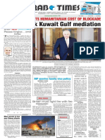 Arab Times - Do 11 Jun 2017