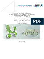 Manual de Excell Avanzado