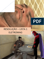 Lista 1 - Resolução - Eletromag