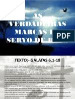 As Verdadeiras Marcas Do Servo de Deus