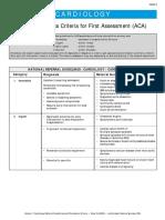 Criterii de Acces Prioritar Cradiologie