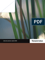 Tarifa Maydisa Pvp Junio 2016 Ventanas Roto PDF