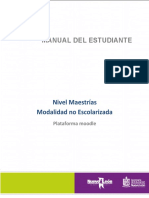 Manual Del Estudiante Maestrías
