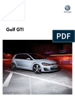 Ficha t Cnica Golf Gti Performance My2017