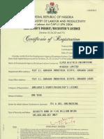 Employer's Permit for Elper Oilfield Engineering