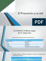 El Procomún y La Red_jcv