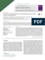2016 Efectos Termicos de Separadores Termicos en La Reduccion de Grietas Termicas en Calderas