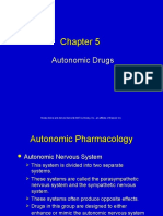 5 Autonomic Drugs