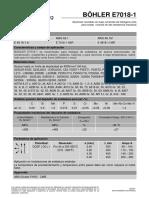 BOHLER E7018-1 (AWS A5.1 E718-1H4R)