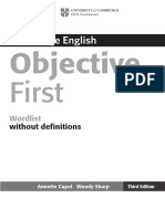 Objective First - Wordlist Without Definitions.pdf