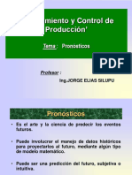 PLANEAMIENTO Y CONTROL DE PRODUCCIÓN