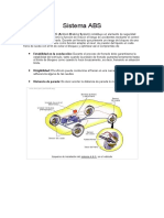 Sistema de Frenos ABS y Direccion Electrica