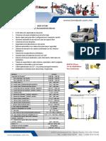XPR 9DS Elevador Con Placa de Piso