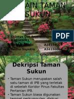 Desain Taman Sukun