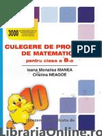 Culegere de Probleme Matematica Pentru Clasa a VIII a