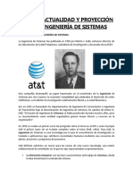 Nac. de La Ing. de Sistemas.