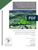 Agroecologia y Escalamiento