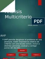 Analisis Multicriterio v AHP-DeMATEL